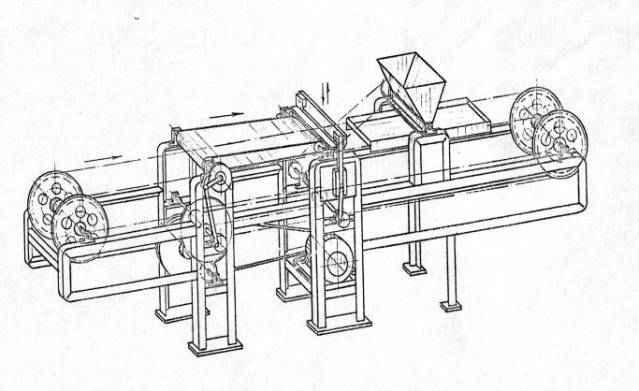 Машина для резки желейного мармелада 1466К