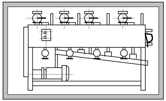 Дозатор жидких компонентов непрерывного действия Ш24-ХДГ