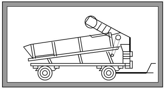 Загрузчик горохомолотилок Ш24-КЗМ