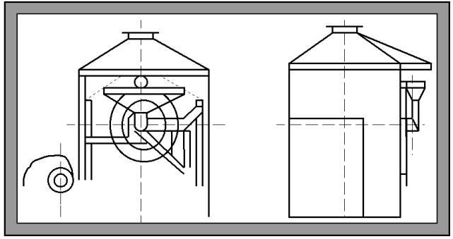Установка обжарочно-охладительная Ш24-ШОЖ/II