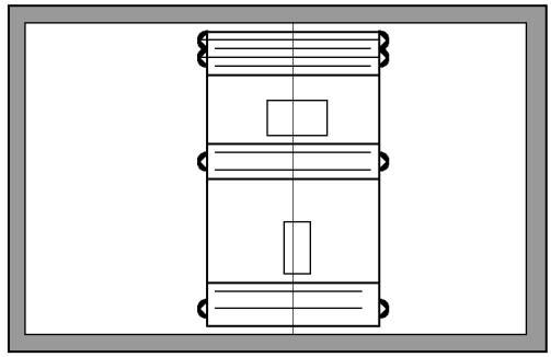 Бочка стальная сварная со съемным днищем РЗ-ЖТБ