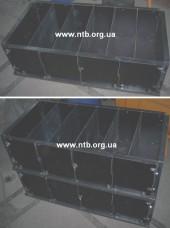Кассетная форма для пенобетонных блоков МПБ-0,25-О Увеличить